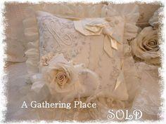 Vintage Lace Keepsake Pillow - Pillows - A Gathering Place