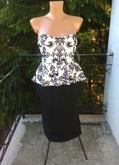 Kup mój przedmiot na #vintedpl http://www.vinted.pl/damska-odziez/sukienki-wieczorowe/11139304-piekna-sukienka-dopasowana-bodycon-baskinka-hit