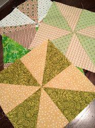 Pinwheel Quilt Blocks Tutorial