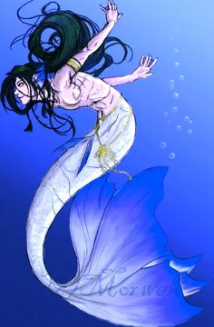 Merman by someone called Morwen(?)
