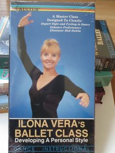 Ilona Vera's Ballet Class VHS Technique Classical Dance Style Instructional NEW