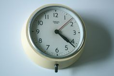 vintage clock - Smiths Sectric