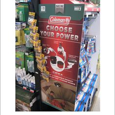 Popon | Image Gallery | Choose Your Power Aisle Violater