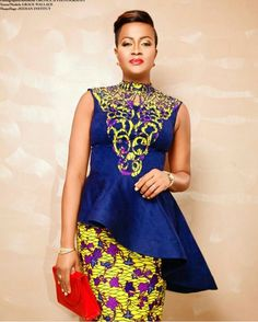 60 Most Trending Ankara Short Gown Styles 2018 For Every Woman on African Dresses For Women, African Print Dresses, African Attire, African Wear, African Fashion Dresses, African Women, Ankara Short Gown Styles, Kente Styles, Short Gowns