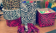 Recycle your boxes. Use Pattern Tape to spice up your classroom.  Mrs. Ayala's Kinder Fun: A week of Great Finds and Creations!