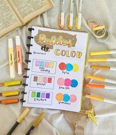 Bullet Journal Banner, Bullet Journal School, Bullet Journal Inspiration, Crayola Supertips, Color Palette Challenge, School Organization Notes, Agenda Planner, Bubble Letters, Bullet Journal Aesthetic