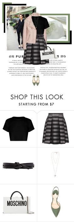 """""""Pretty on Monday"""" by veronicamastalli ❤ liked on Polyvore featuring Isabel Marant, Givenchy, Moschino and Paul Andrew"""