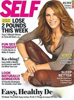 Self Magazine Cover [United States] (January 2012)