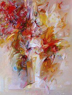 We present: Autumn - Zdzisław Majrowski. One of the many paintings by Zdzisław Majrowski. London Art, International Artist, Fall Flowers, Contemporary Art, Sculptures, Presents, Gallery, Drawings, Painting