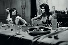 Mick and Keith - Rolling Stones - Exile on Main Street