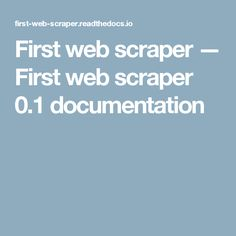 8 Best Web Scraping images in 2017 | Python, Big data, Career change