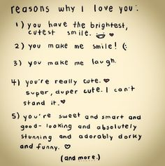 Unique 10 Reasons Why I Love You Quotes - love quotes