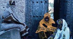 Women wearing kanga