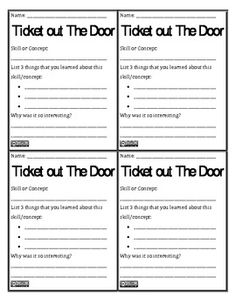 ticket out the door printable koni polycode co
