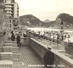 Belle Epoque, Old Pictures, Old Photos, Copacabana Palace, Grande Hotel, As Time Goes By, Ferrat, City State, Most Beautiful Cities