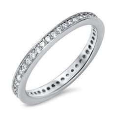Black Cz Polished Criss Cross Ring New 925 Sterling Silver Thumb Band Sizes 5-10 Fashion Jewelry
