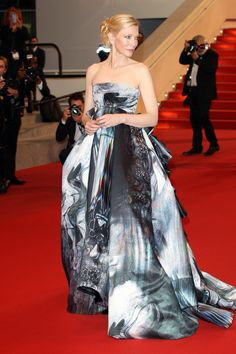 Cate Blanchett in Giles at Cannes 2015