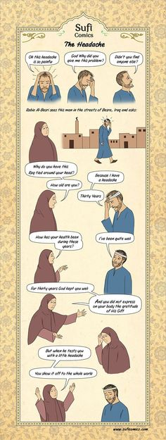 The Headache - Sufi Comics