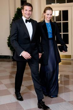 Bradley Cooper and Suki Waterhouse - best dressed