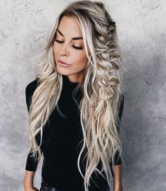 Beautiful boho Hairstyles To Do Yourself The best way of changing your look is simply grabbing different hairstyles for girls. If you are in search of something different hair style ideas for girls. Pretty Hairstyles, Easy Hairstyles, Girl Hairstyles, Wedding Hairstyles, Hairstyle Ideas, Boho Hairstyles For Long Hair, Perfect Hairstyle, Bohemian Hairstyles, Hairstyles 2016