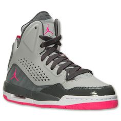 new concept fb1a1 3d71e Girls  Big Kids  Jordan Flight SC-3 (3.5y - 9.5y) Basketball Shoes