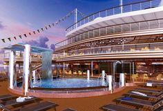 Costa Diadema inaugural cruises less than a month away.