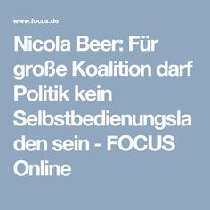 Nicola Beer: Für große Koalition darf Politik kein Selbstbedienungsladen sein - FOCUS Online