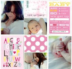 Themed Cards - Baby Girl