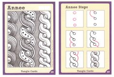 BEEZ in the Belfry: Tangle Card Challenge #2 - Annee