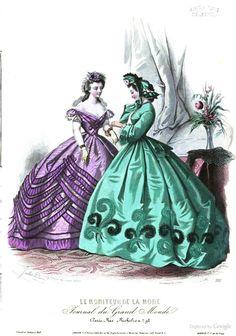 Le Moniteur de la mode 1863