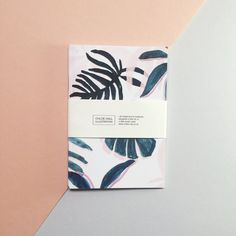 Tropical Patterned Pocket A6 Notebook