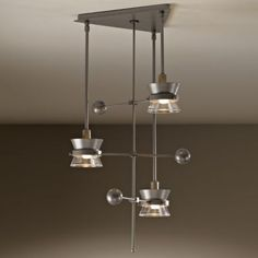 Apparatus 3-Light Pendant by Hubbardton Forge