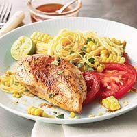 Chili Chicken and Pasta