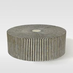 West Elm Stripe Inlay Coffee Table