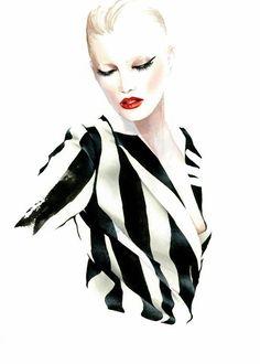 Antonio Soares 10  - Fashion Illustrations by Antonio Soares  <3 <3