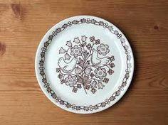 Arabia Finland, Finnish Flint, Sirkku plate