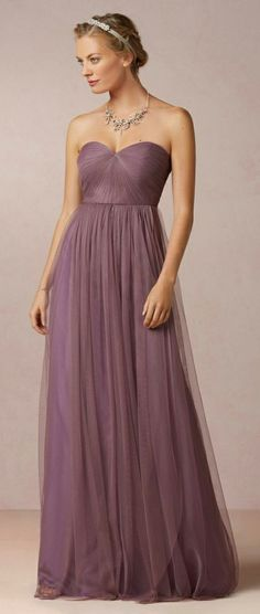 Beautiful Plum Gown