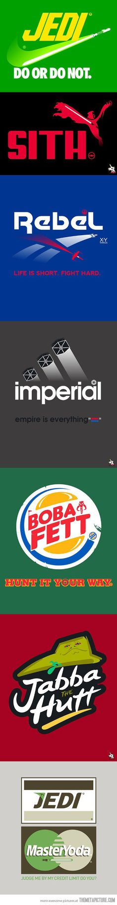 If brands were in the Star Wars universe
