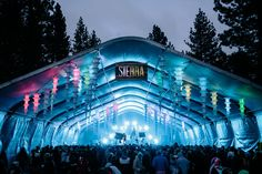 Part of a photo gallery that SnowGlobe Music Festival posted that gives a visual representation of what their production and set up is like; also gives a idea of what the venue is like.