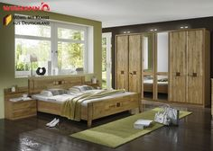 Schlafzimmer komplett Holz Erle Teil Massiv 3771. Buy now at https://www.moebel-wohnbar.de/schlafzimmer-komplett-holz-erle-teil-massiv-3771.html
