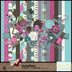 SweeTeen - PU/S4H/S4O [MbDD_STkit] - $3.49 : Scraps N Pieces Store
