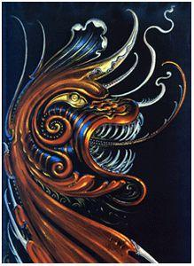 Un dragon por Arce