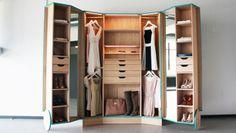 Walk-in Closet, l'armadio che si trasforma in una mini cabina armadio