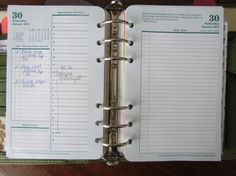 Daily Page Original - Making a daily page w/ appts and task list work for you in a planner (Good idea for the ADHD mind)