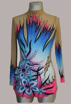 awesome colour combination, really detailled. would be time consuming to sew and decorate