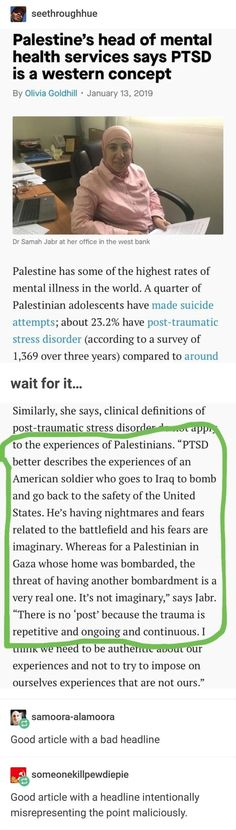 Apparently, this is called continuous traumatic stress (cts). The More You Know, Good To Know, Things To Know, Things To Think About, Faith In Humanity, Social Issues, Social Justice, Thought Provoking, Equality