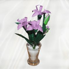 Buy Origami Iris Flower Gift - Origami Wedding Anniversary