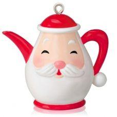 2014 Santa's Little Teapot, Miniature
