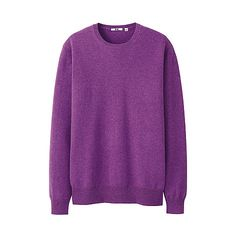 MEN Cashmere Crew Neck Sweater