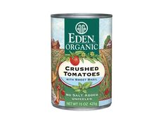 100 Cleanest Packaged Food Awards 2013: Grains And Pastas: Eden Foods organic crushed tomatoes with basil http://www.prevention.com/food/healthy-eating-tips/100-cleanest-packaged-food-awards-2013-grains-and-pastas?s=9